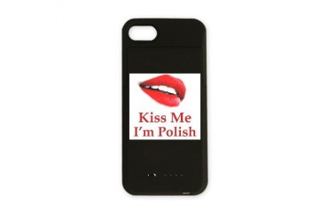 Kiss Polish Polish iPhone Charger Case by CafePress