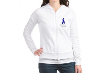Colon Cancer Awareness Cupsthermosreviewcomplete Jr. Hoodie by CafePress