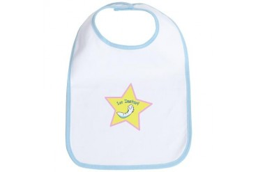 First Instar Girl Baby Bib by CafePress