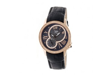 Sophie amp Freda Toronto Watch-Rose Gold Black