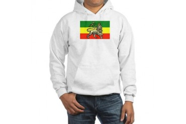 Rasta Hooded Sweatshirt by CafePress