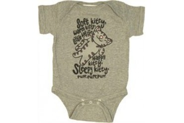 Big Bang Theory Soft Kitty Song Lyrics Gray Snap Suit