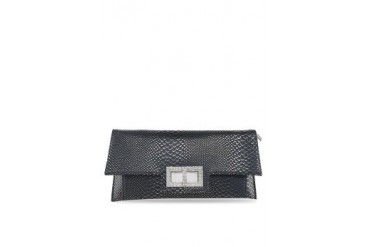 Embellish Textured Clutch