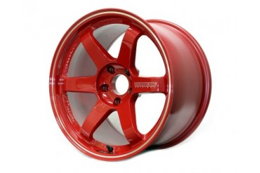 Volk Racing Red TE37 RT 18x10 44mm 5x100 FRS, BRZ or GT-86
