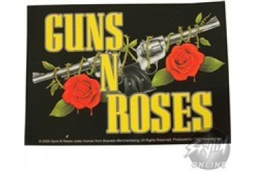 Guns N Roses Dual Gun Logo Sticker