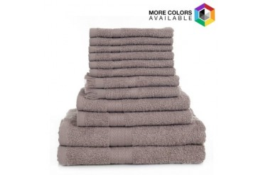 Lavish Home 24 Piece 100% Cotton Towel Set