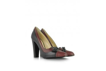 Leather Derby Pump