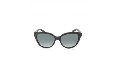 ODETTE/S 6UIHD Black Animal Print Acetate Women's Sunglasses