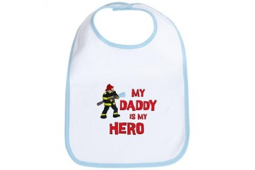 My Daddy Is My Hero Bib