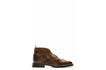 Ps By Paul Smith Brown Brogue Grayson Boots