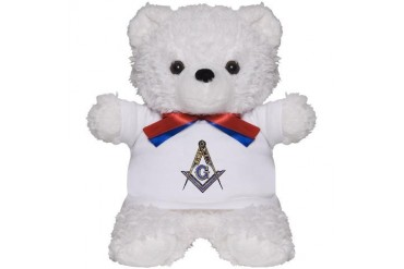Mason Masonic Teddy Bear by CafePress