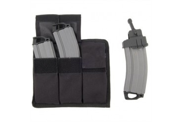 Ar-15/M16 Tactical Magazine/Pouch Readiness Pack 20-Round Mag/Pouch Pack Gray/Black