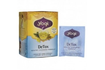 Yogi Organic Herbal Tea DeTox Healthy Cleansing Formula