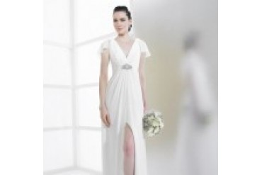"Moonlight Tango ""In Stock"" Wedding Dress - Style T496"