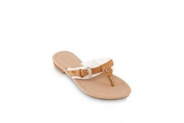 Noveni Sandals with Buckle in White