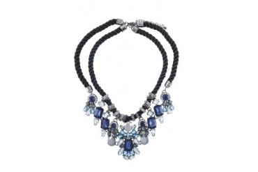 Sze Accessories Statement Crystal Necklace