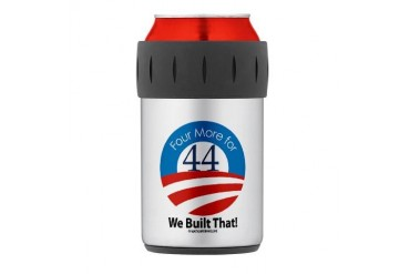 4 More for 44 VICTORY Thermos Can Cooler Obama Thermosreg; Can Cooler by CafePress
