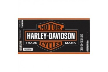 Harley Davidson Bar and Shield Large Decal