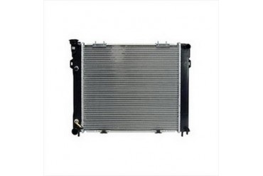 Omix-Ada Replacement 2 Core Radiator for 4.0L 6 Cylinder Engine with Automatic Transmission 17101.23 Radiator