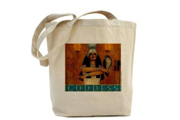 Isis Goddess Art Tote Bag by CafePress