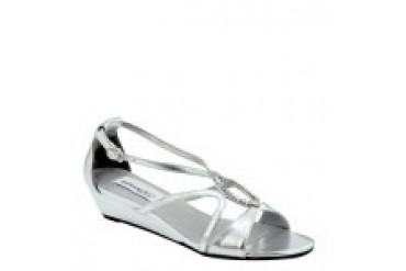 Dyeables Shoes - Style Harper Silver 29213