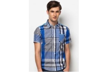Neverland Short Sleeves Shirt With Check Print