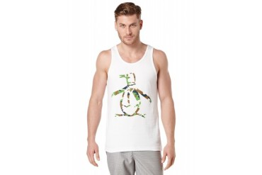 Original Penguin CAMO OUTLINE PENGUIN TANK