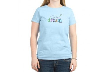 Custom Women's Light Live Your Dream T-Shirt