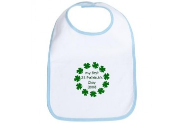My 1st St Patricks Day 2007 Baby Bib by CafePress