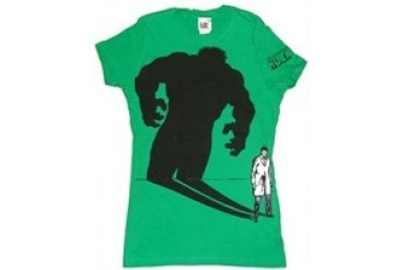 Marvel Incredible Hulk Bruce Banner's Shadow Baby Tee