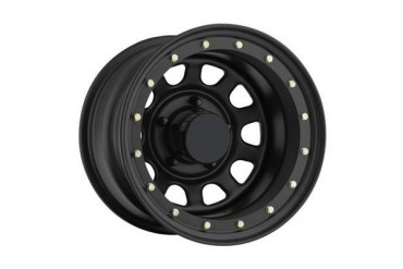 Pro Comp Wheels 152 Rock Crawler Series - Flat Black Street Lock Wheels  152-5183F Pro Comp Rock Crawler Steel Wheels