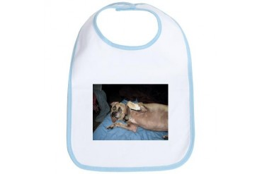 A Hug From Yo Puggle Funny Bib by CafePress