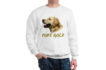 GOLDEN RETRIEVER PURE GOLD Breed Sweatshirt by CafePress
