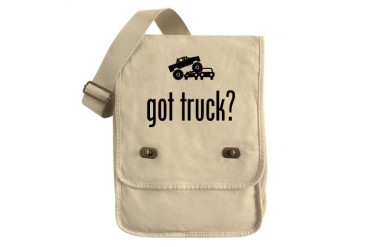 Monster Truck Funny Field Bag by CafePress