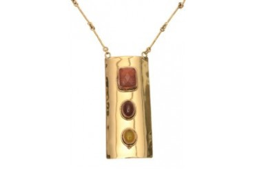 Brown Nephthys Necklace