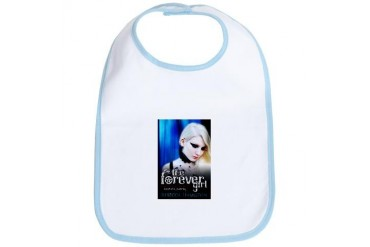 The Forever Girl Blue Bib by CafePress