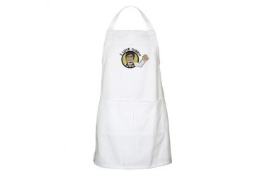 I love Curry Amitabh Bachchan Bollywood Apron by CafePress