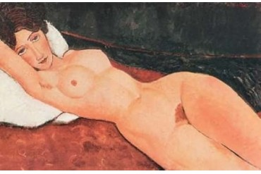 Reclining Nude X Poster Print by Amedeo Modigliani (24 x 36)