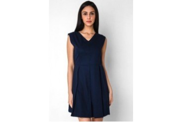 Urban Twist V Pleat Dress