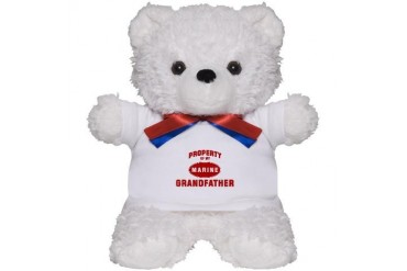Marine GRANDFATHER Property Family Teddy Bear by CafePress