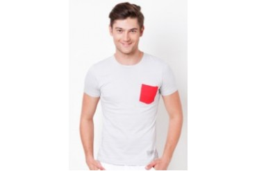Basic Roundneck T-shirt with Pocket
