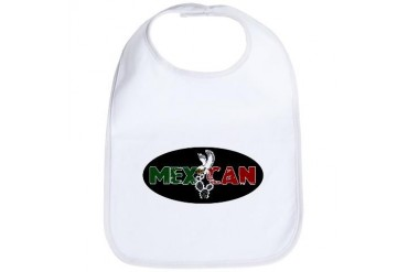 MEXiCAN Mexico Bib by CafePress