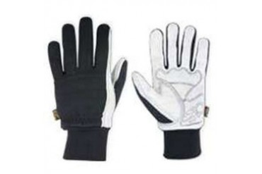 6 Pack Custom Leathercraft 260X Suede Gloves W Knit Wrist-Xl