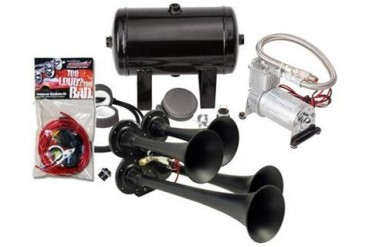 Kleinn Train Horns Complete quad air horn package with 130 psi sealed air system HK4-1 Kleinn Complete Kits
