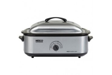 Nesco 4818-25pr 18-Quart Roaster Oven (stainless Steel With Stainless