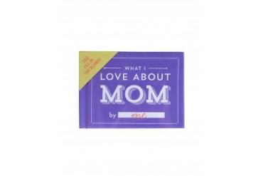 'What I Love About Mom' Book Purple