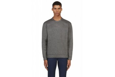 Valentino Grey Single Stud Sweatshirt