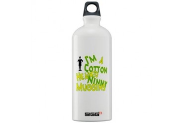 Cotton Headed Christmas Sigg Water Bottle 1.0L by CafePress