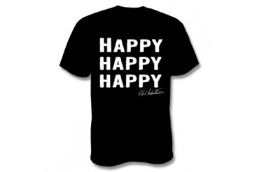 Duck Commander Happy Happy Happy T-Shirt - Black - XXL