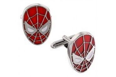 Marvel Comics Spider-Man Head Cufflinks